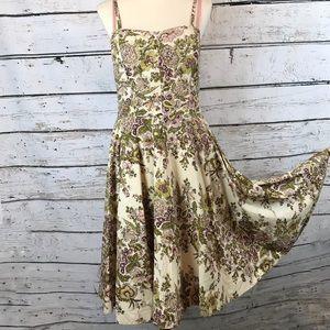 {Anthropologie} Elevenses Vintage Dress